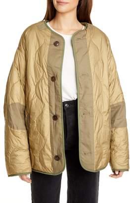 Etoile Isabel Marant Demma Reversible Faux Fur Coat