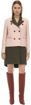 Parcoats SHORT DOUBLE BREAST TECHNO COTTON COAT