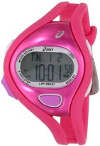 Asics Unisex CQAR0504 Entry Red and Pink Digital Running Watch