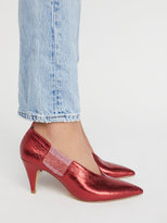 Free People Leather Florence Heel
