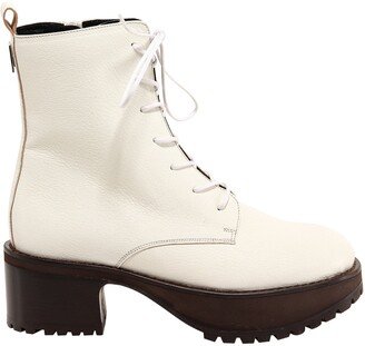 BY FAR Lace-Up Ankle Boots