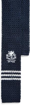 Ralph Lauren Graphic Knit Silk Tie