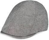 Sean John Men's Donegal Chambray Ivy Newsboy Hat