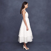 J.Crew Rosebloom tea-length dress