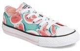 Converse Girl's Chuck Taylor All Star Watermelon Print Sneaker