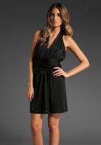 Halston Halter Day Dress