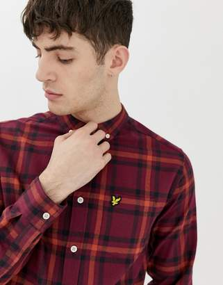 Lyle & Scott check flannel shirt-Multi