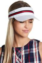 Steve Madden On-Track Striped Visor