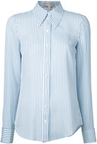 Michael Kors striped shirt - women - Silk - 2
