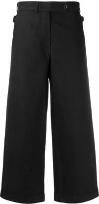 Margaret Howell cropped wide leg trousers