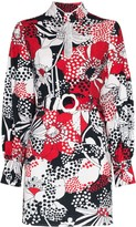 Rixo michelle floral print mini dress