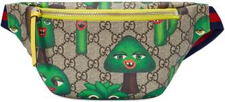 Gucci Children's GG smiling plants belt bag