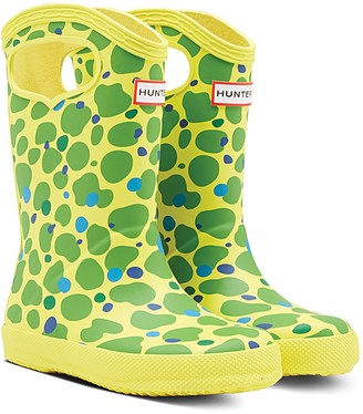 Hunter Kids First Classic Spot Camo Pull-On Rain Boot (Toddler)