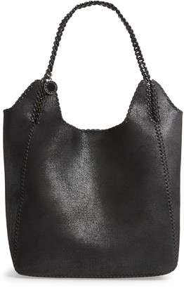 Stella McCartney Large Shaggy Deer Faux Leather Tote