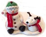 Hallmark Jingle Pals Snowman Dog Singing Dancing
