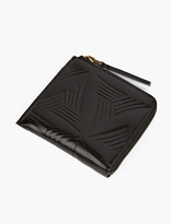 Marni Black Embossed Leather Wallet