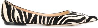 Jimmy Choo Love flat ballerina shoes