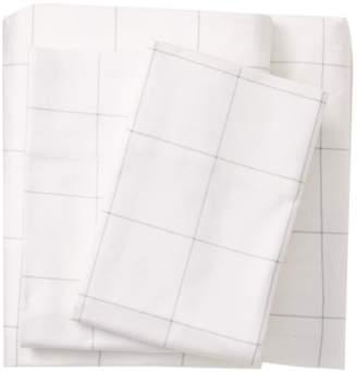 Nordstrom Rack Plaid Print Flannel Sheet Set - King
