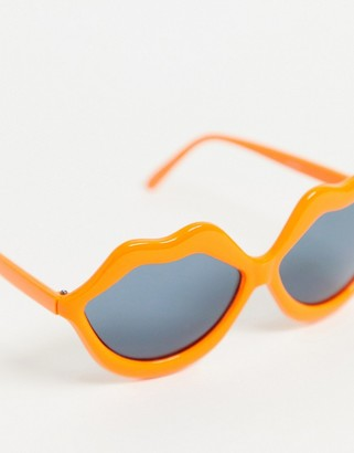 Jeepers Peepers clear frame sunglasses