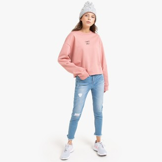 La Redoute Collections Ripped Skinny Jeans in Cotton Mix, 10-16 Years