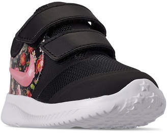 Nike Toddler Girls' Star Runner 2 Vintage Floral Casual Athletic Sneakers from Finish Line