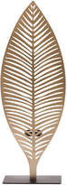 Torre & Tagus Gold Leaf Cutout Tealight Holder