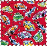 Camilla And Marc SheetWorld Race Cars Fabric by the Yard