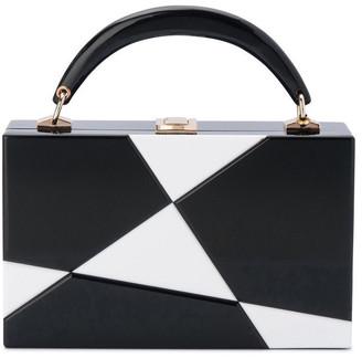 Olga Berg OB6342 Genevieve Hardcase Clutch Bag
