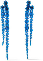 Thumbnail for your product : Simone Rocha Sterling Silver Crystal Earrings