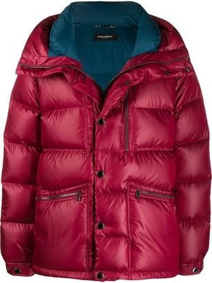 Dolce & Gabbana Oversized Zip-Up Jacket