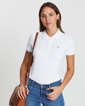 Lacoste Five-Button Slim Stretch Core Polo