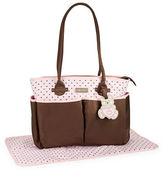 Little Me Teddy Bear Diaper Bag