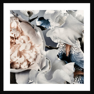Cooper Black Peony And Iris Photographic Framed Print