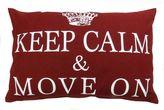 B. Smith Park ''Keep Calm & Move On'' 12'' x 18'' Throw Pillow