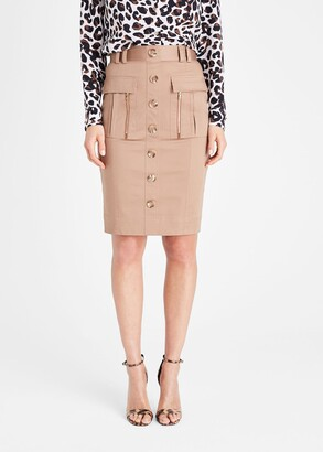 Phase Eight Fifi Button Front Skirt