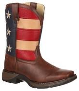 Durango Kid's Patriotic Lil' Cowboy Boots - Multicolor