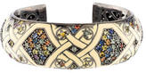 MCL by Matthew Campbell Laurenza Enamel & Sapphire Cuff