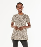 Thumbnail for your product : New Look Spot Tiered Peplum Top