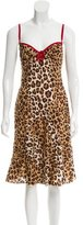 Moschino Cheap & Chic Moschino Cheap and Chic Printed Sleeveless Dress