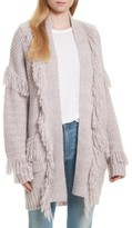 Rebecca Minkoff Women's Berea Fringe Cardigan Sweater