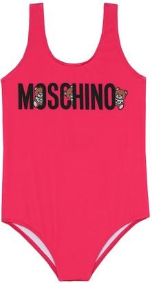 MOSCHINO BAMBINO Logo swimsuit