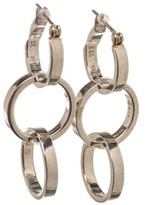 Tiffany & Co. 925 Sterling Silver Paloma Picasso Interlocking Hoop Earrings