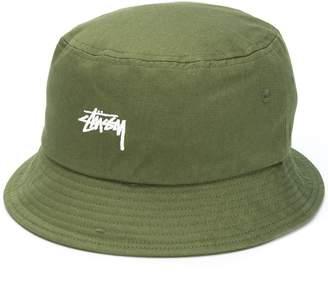 Stussy Embroidered Logo Bucket Hat