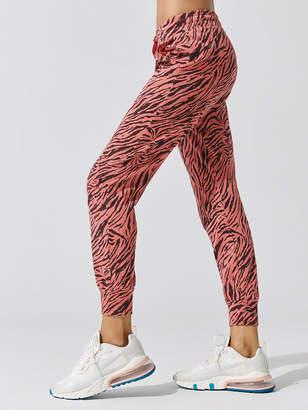 Sundry Zebra Tapered Sweatpant