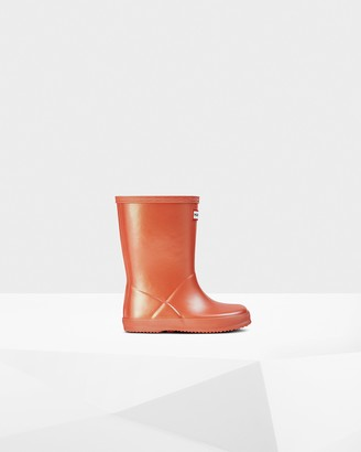 Hunter Original Kids First Classic Nebula Rain Boots