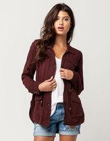Full Tilt Rayon Womens Anorak Jacket