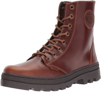 Palladium Women's Pallabosse Off Lea Chukka Boot