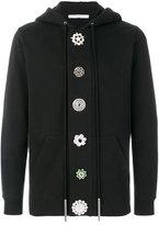 Givenchy embellished hooded sweatshirt