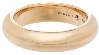 By Pariah 14kt yellow gold Albert ring