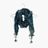 Madewell Diamond-Shaped Scarf in Bandana Batik